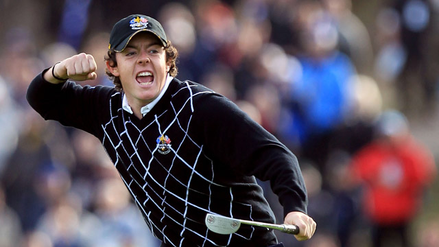 Rory was a rookie in 2010, but earned two points for Team Europe in his first of three straight wins.