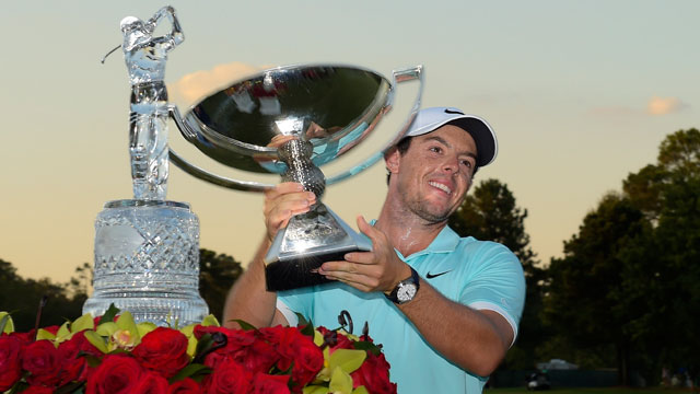 Rory McIlroy came from behind to capture the Tour Championship and the FedEx Cup on Sunday.