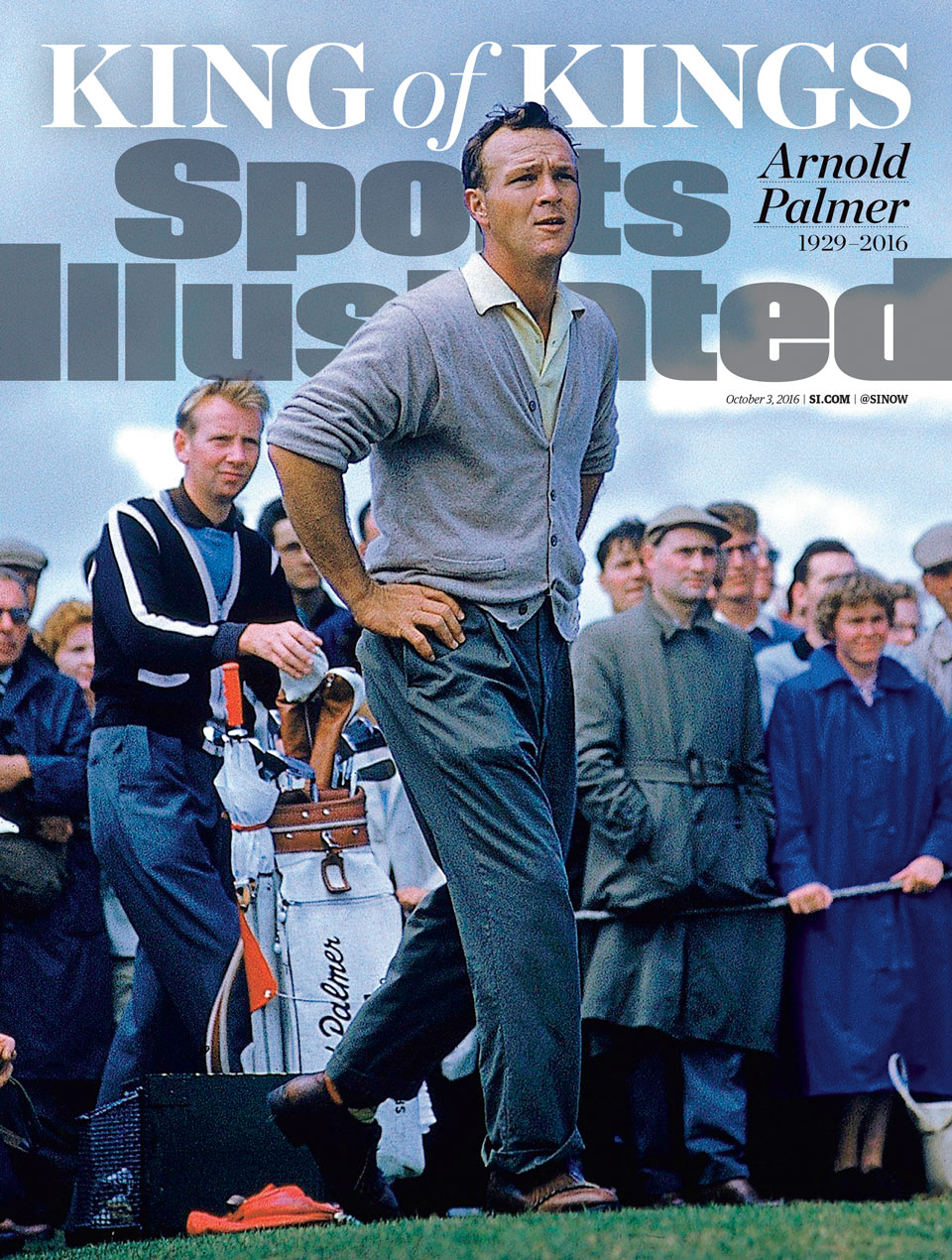 Arnold Palmer is featured on the upcoming cover of Sports Illustrated.