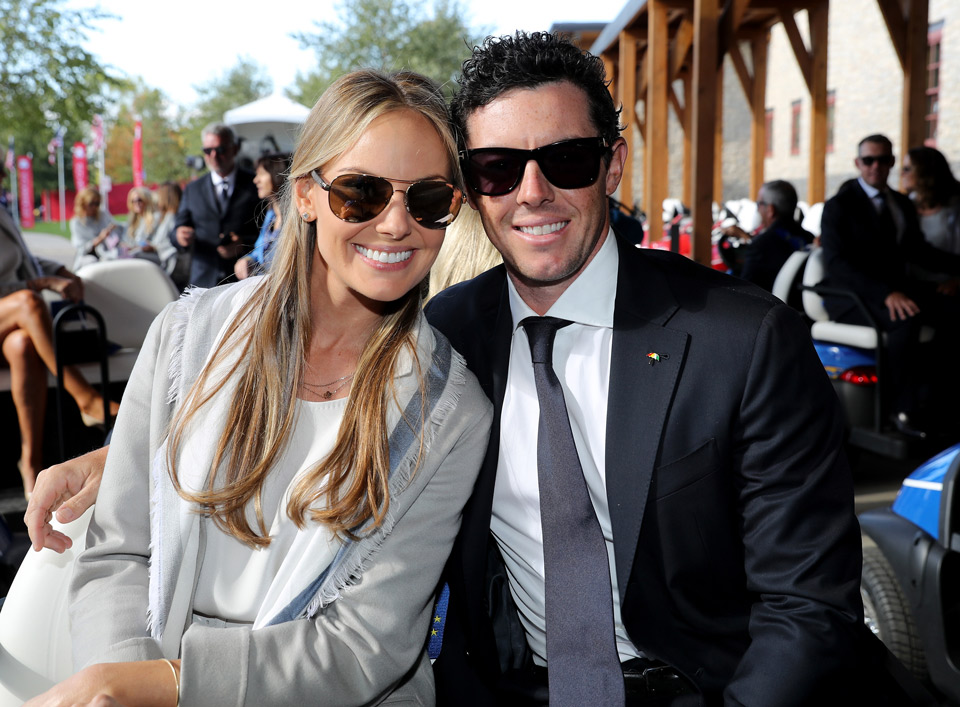 Rory McIlroy and his fiancée, Erica Stoll, set an April wedding date.