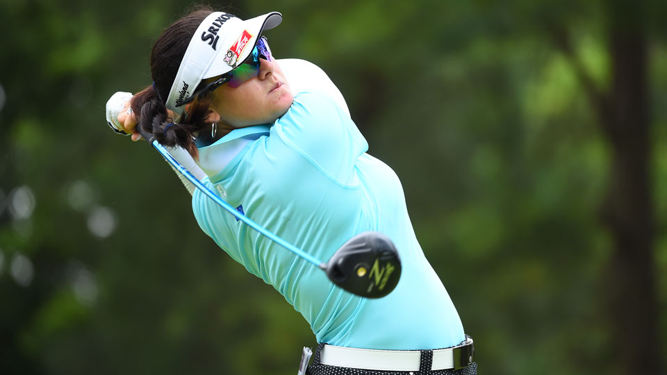 Hannah Green finished second to top-ranked Lydia Ko at the New Zealand Open last year.