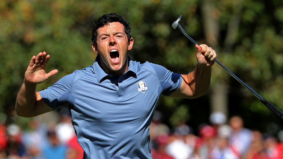 Rory McIlroy was one of Europe's most valuable players at the Ryder Cup.