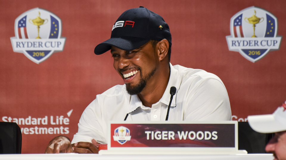 The last time we saw Tiger Woods at a golf course was at the Ryder Cup at Hazeltine. But he'll be the main attraction at the Safeway.