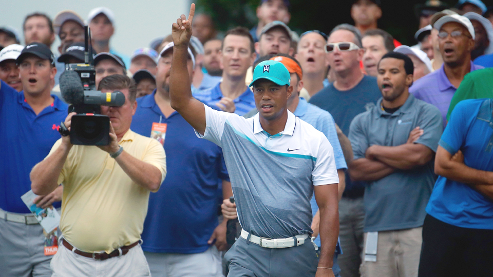 Tiger Woods showed signs of his old self during the 2015 Wyndham Championship, but a couple of bad chips during the final round derailed his chance to win.