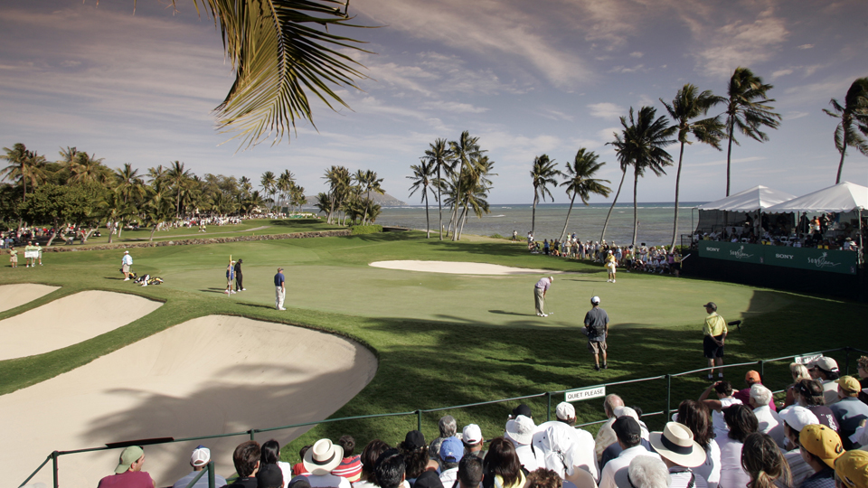 Waialae Country Club in Honolulu is the Sony Open host.