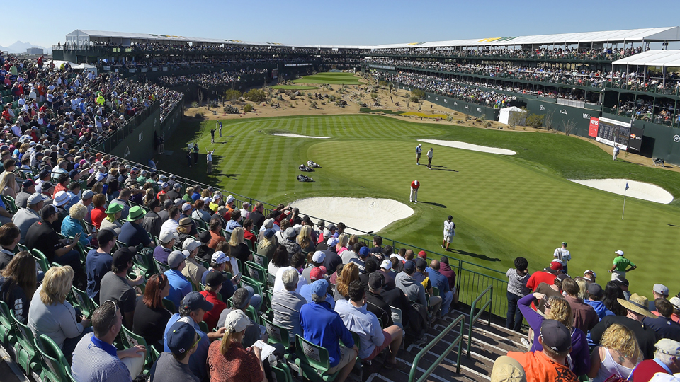 The 16th at the Stadium Course is one reason the Phoenix Open is so memorable.
