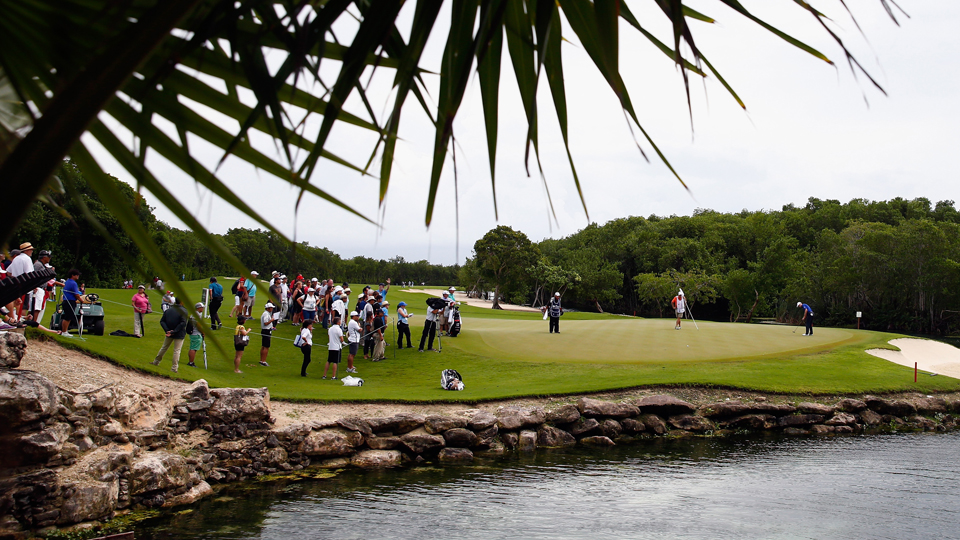 The OHL Classic is played at the Mayakoba El Camaleon Golf Club, which was designed by Greg Norman.