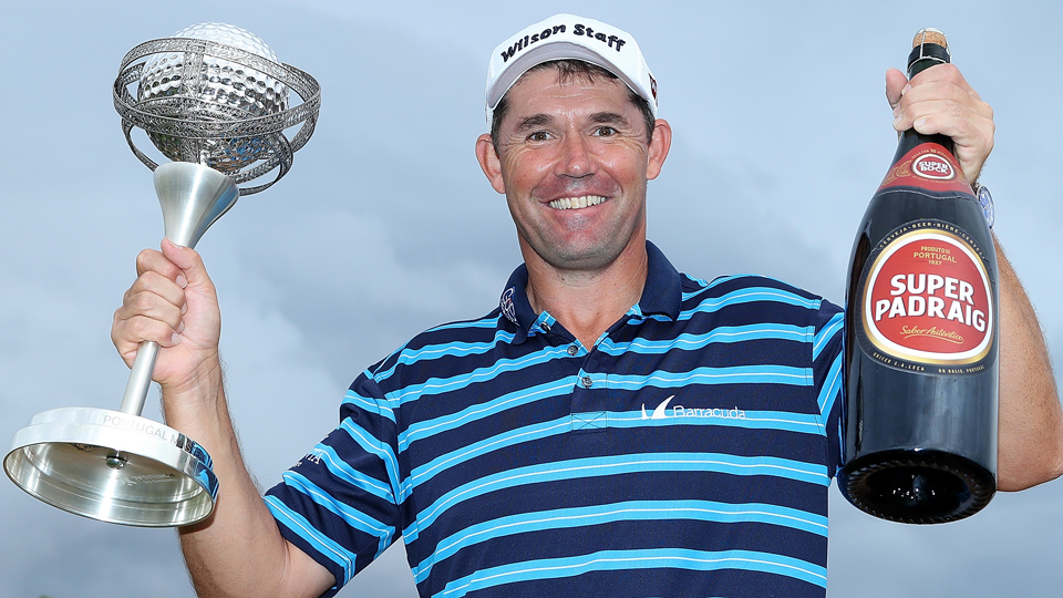 Padraig Harrington broke out of a slump by winning the Portugal Masters at Victoria Clube de Golfe on Oct. 23, 2016, in Vilamoura, Portugal.