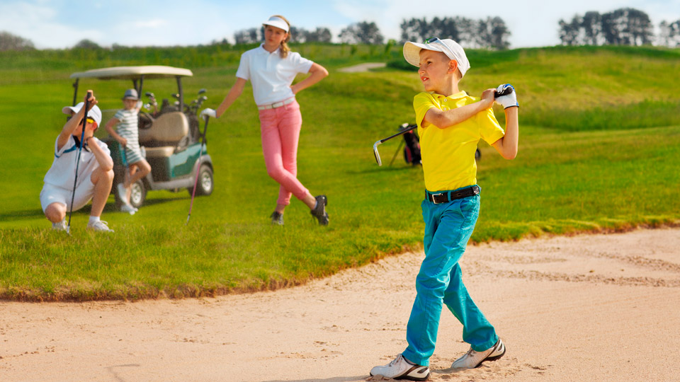 Not just for Junior: Par-3 tracks will help you sharpen your short game.