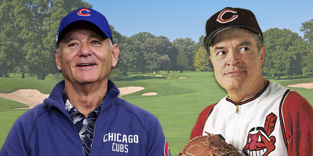 Bill Murray and Bob Hope are the resident big hitting golfers in Chicago and Cleveland. But which team has the prowess to come out on top of the World Series of Golf?