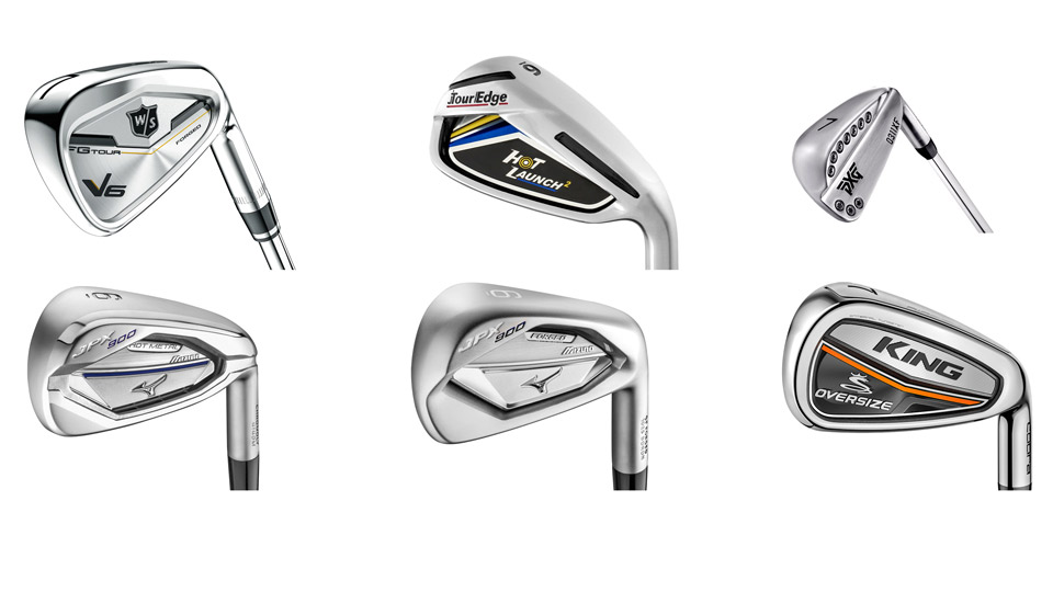 These six new iron models can give you a little extra help on mis-hits.