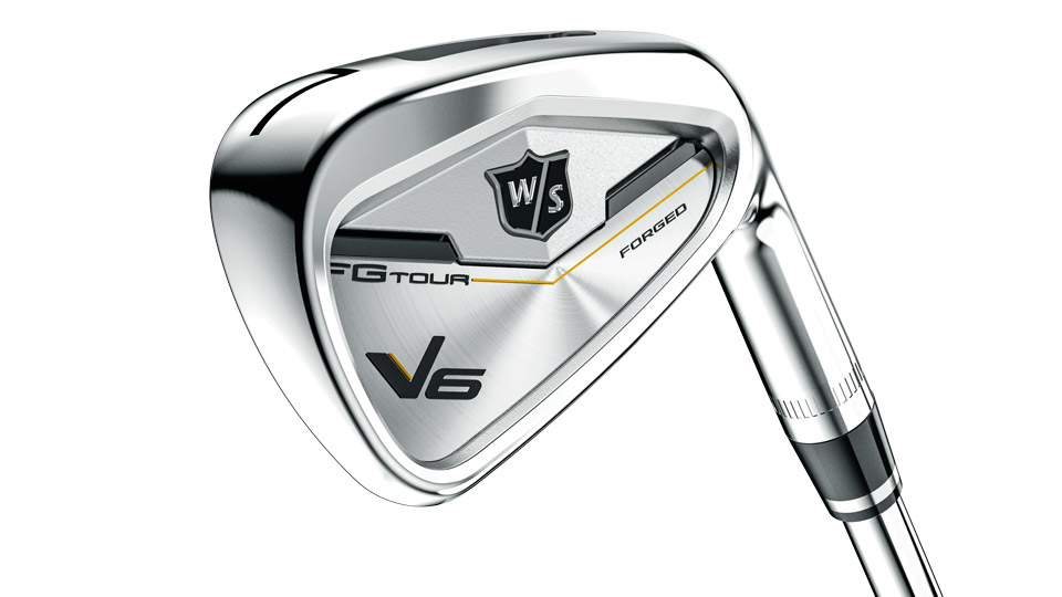 Wilson Staff FG Tour V6 iron.