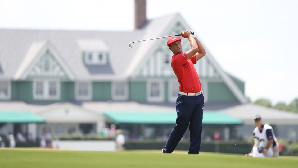 Former U.S. Amateur champion Bryson DeChambeau has a promising future on Tour.