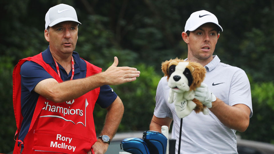J.P. Fitzgerald has been Rory McIlroy's caddie since 1998.
