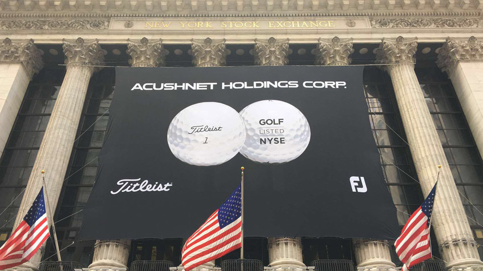 Acushnet Holdings raised $329 million in an initial public offering of 19.3 million shares at $17 each.