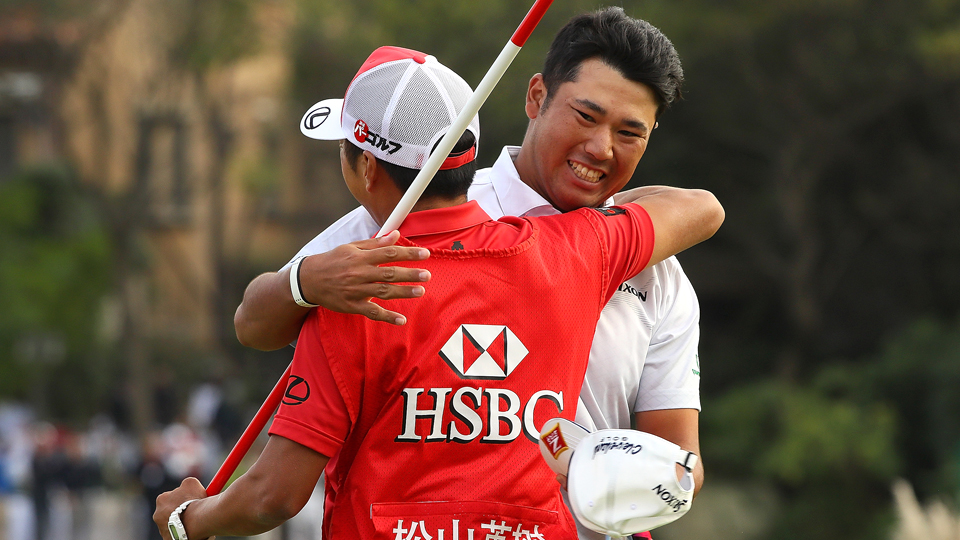 Hideki Matsuyama didn't just win in Shanghai. He dominated -- cruising to a seven-shot victory.