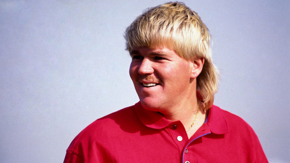 John Daly won the PGA Championship in 1991 and the Open Championship in 1995.