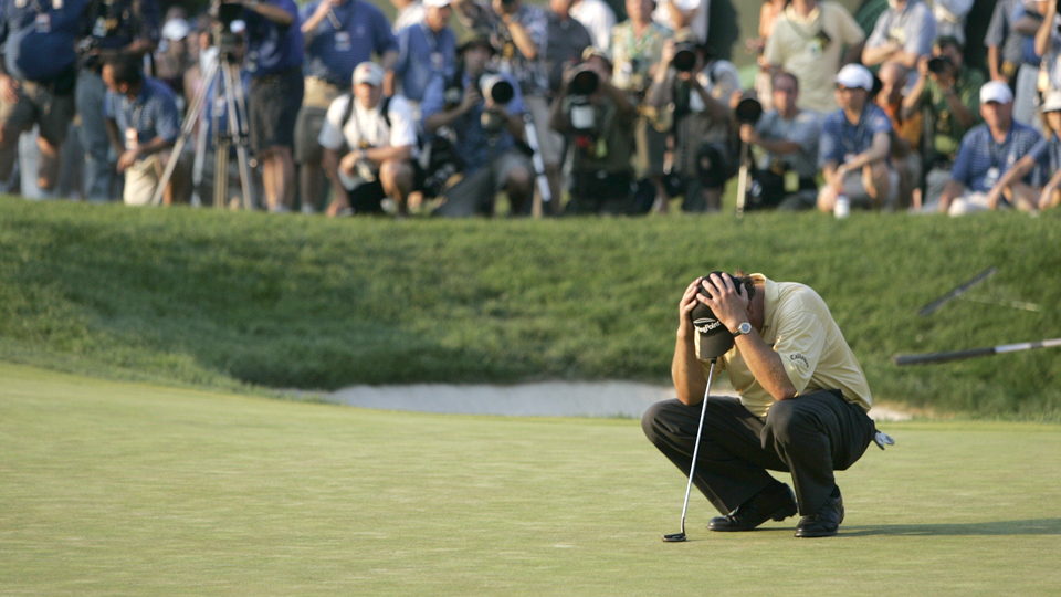 Phil Mickelson let the 2006 U.S. Open at Winged Foot slip away, and he still needs to win that event for the career grand slam.
