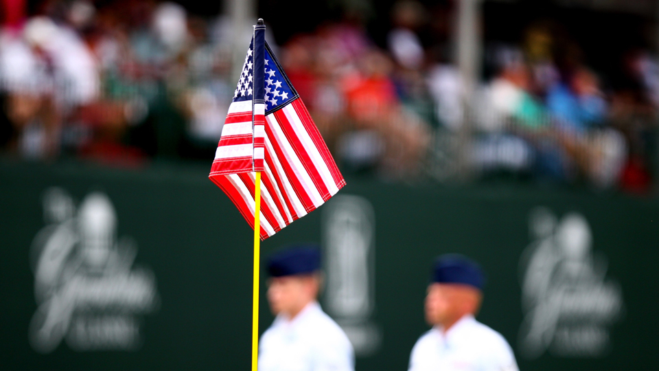 A number of professional golfers took to social media Friday to honor American military veterans.