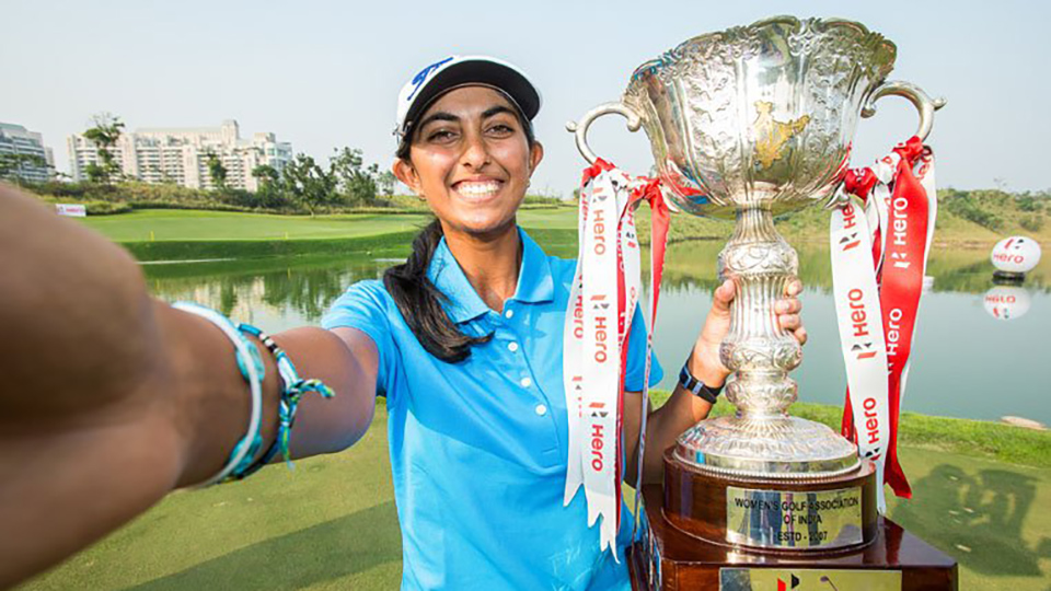 Indian golfer Aditi Ashok captured her first professional win at the LET's Women's Indian Open, becoming the first Indian golfer to win an event on that tour.