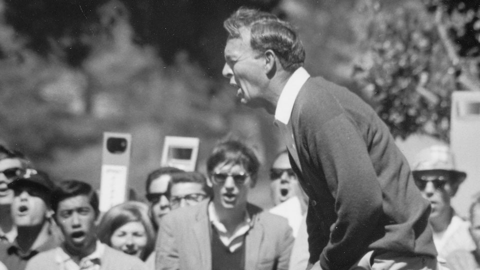 "According to his longtime assistant, Doc Giffin, Palmer ""never really got over"" his agonizing collapse at the '66 Open."