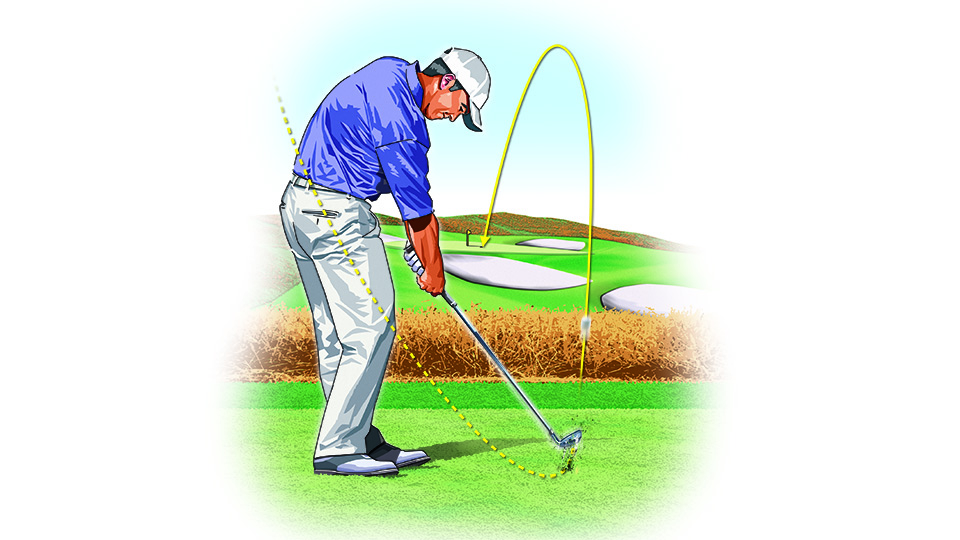 Hitting the ball well isn't as simple as doing A, B and C. The mind and body can work at cross purposes, making the cure worse than the disease.