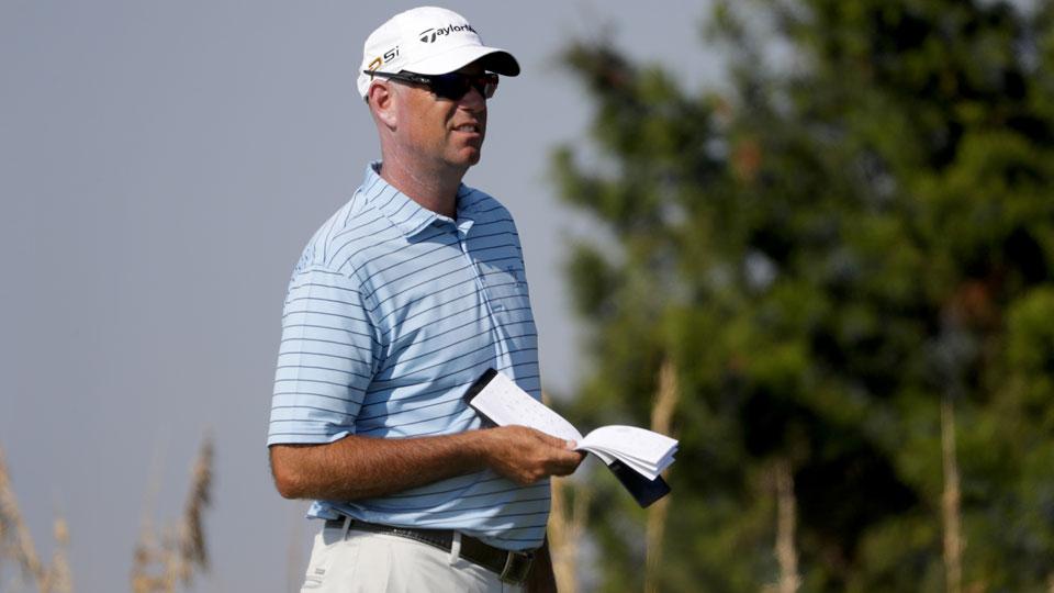 Stewart Cink has played sparingly since his wife was diagnosed with cancer in May.