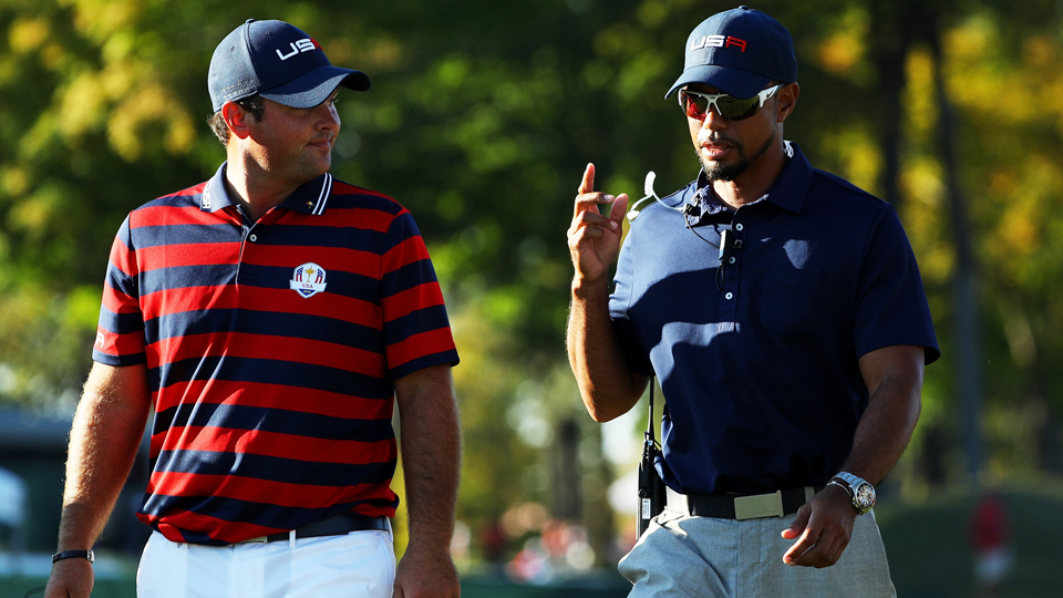 Two months removed from a Ryder Cup victory, Patrick Reed and Tiger Woods will play together at the Hero World Challenge.