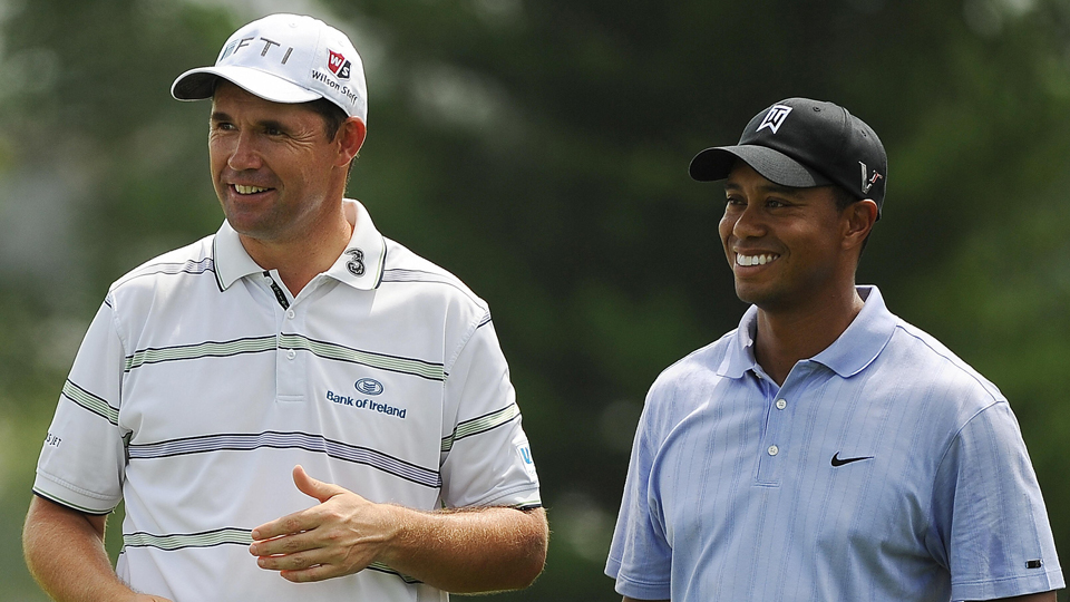 Padraig Harrington was one of Tiger Woods's greatest rivals during the mid-2000s.