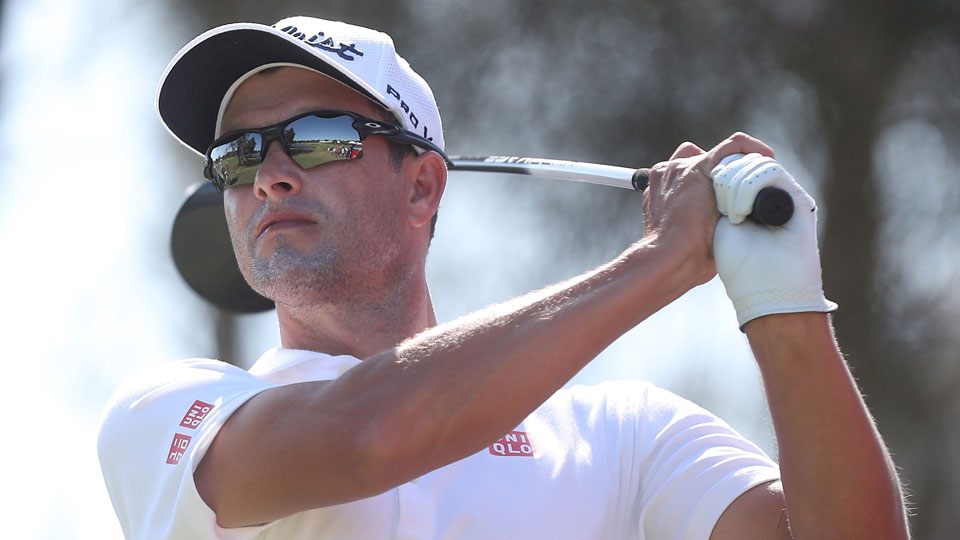 Adam Scott won the Australian PGA Championship in 2013.