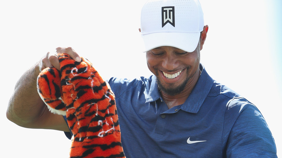 Tiger Woods on Friday during the second round of the Hero World Challenge.