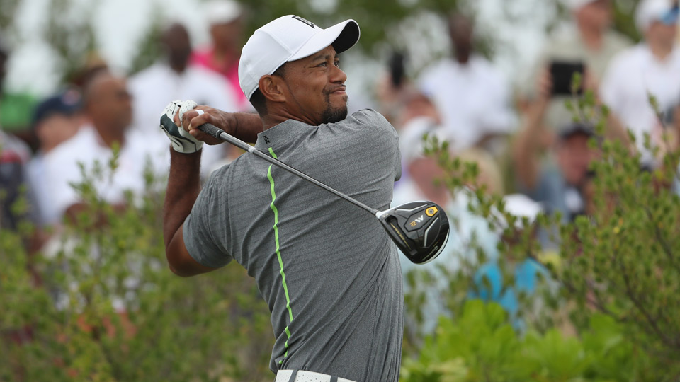 Tiger Woods during the third round of the Hero World Challenge.