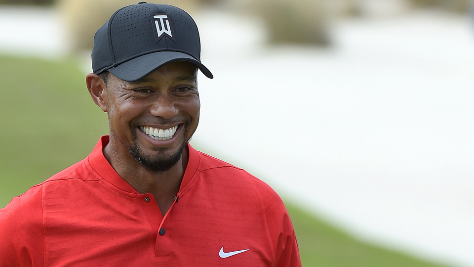 Despite finishing 15th at the Hero, Tiger Woods led the field in birdies.
