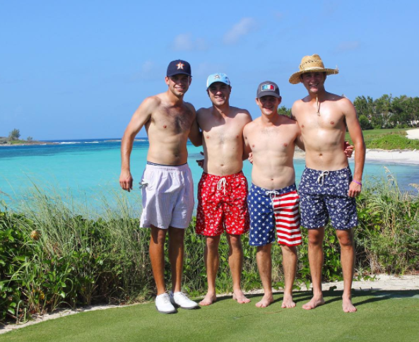 Cory Whitsett, Justin Thomas, Bud Cauley & Smylie Kaufman