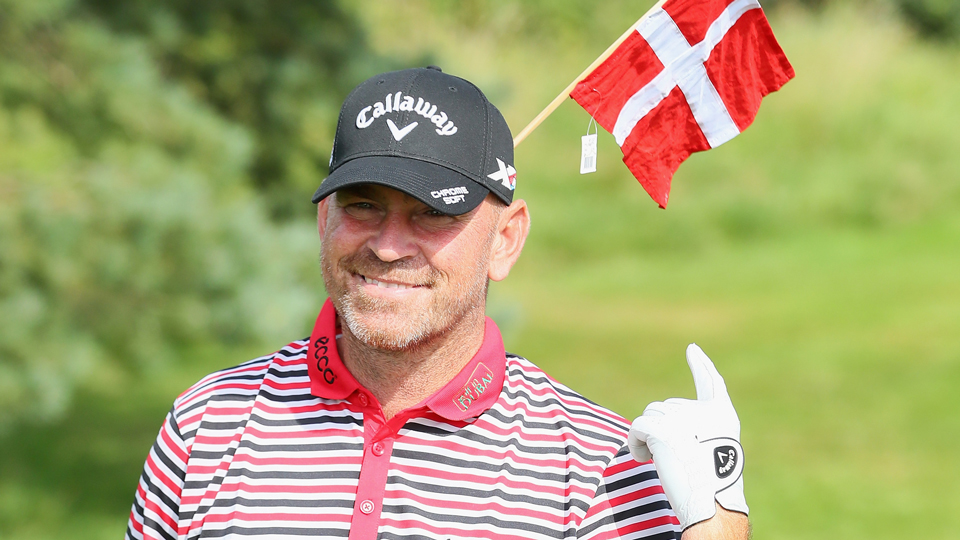 Thomas Bjorn was the first Dane to ever take part in the Ryder Cup.