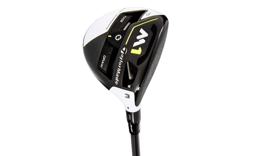 The new TaylorMade M1 fairway wood.