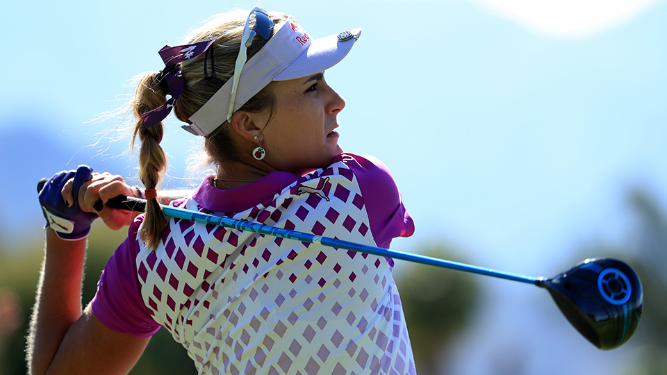Lexi Thompson was second in average driving distance for the 2016 LPGA tour season at 277.40 yards.