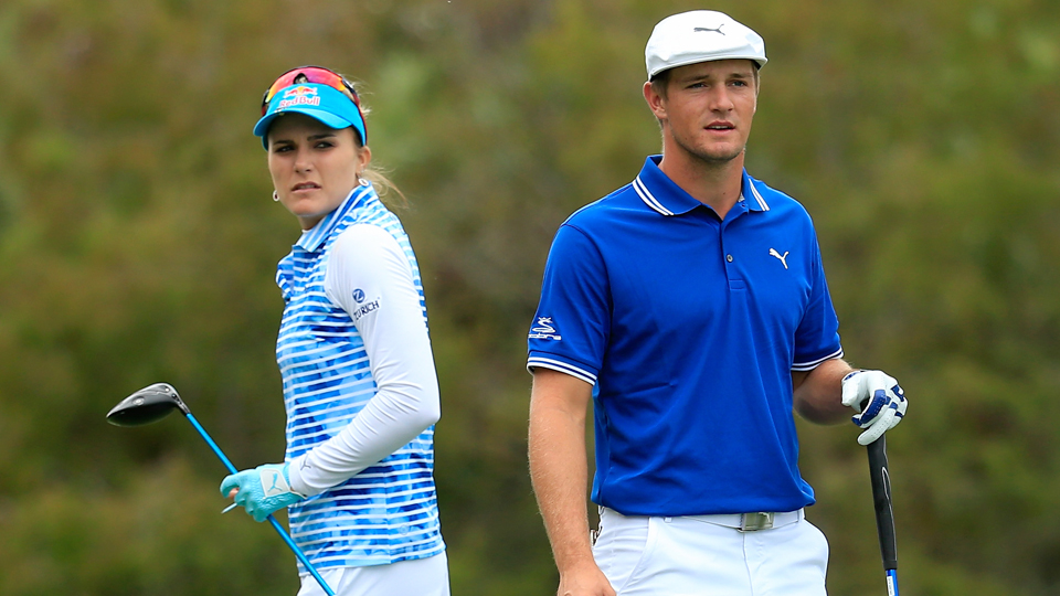 Lexi Thompson and Bryson DeChambeau were the fan favorites at the Franklin Templeton Shootout.