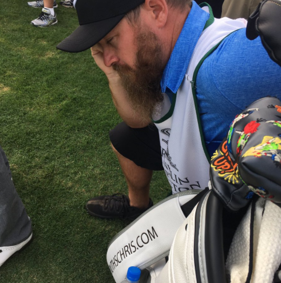 Kevin Chappell's Caddie