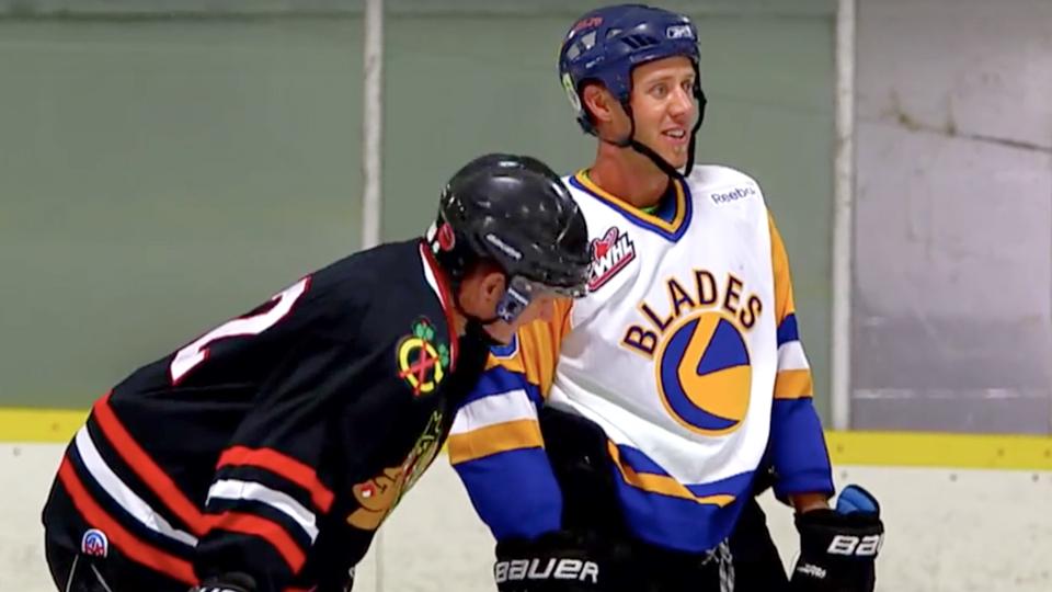 Graham DeLaet is a Saskatchewan native who played junior hockey.