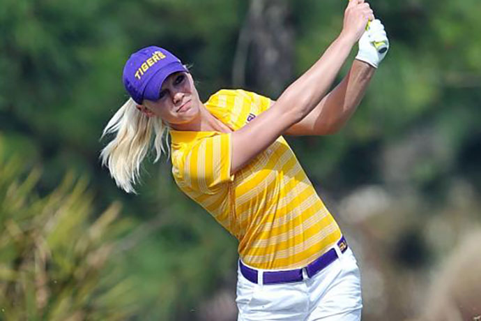 Sagstrom was a four-time All-American at LSU and earned SEC Player of the Year honors in 2015.