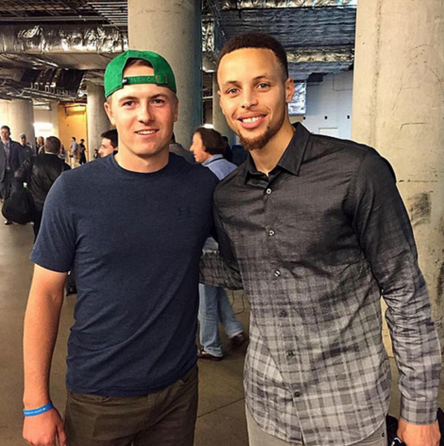 Jordan Spieth & Steph Curry