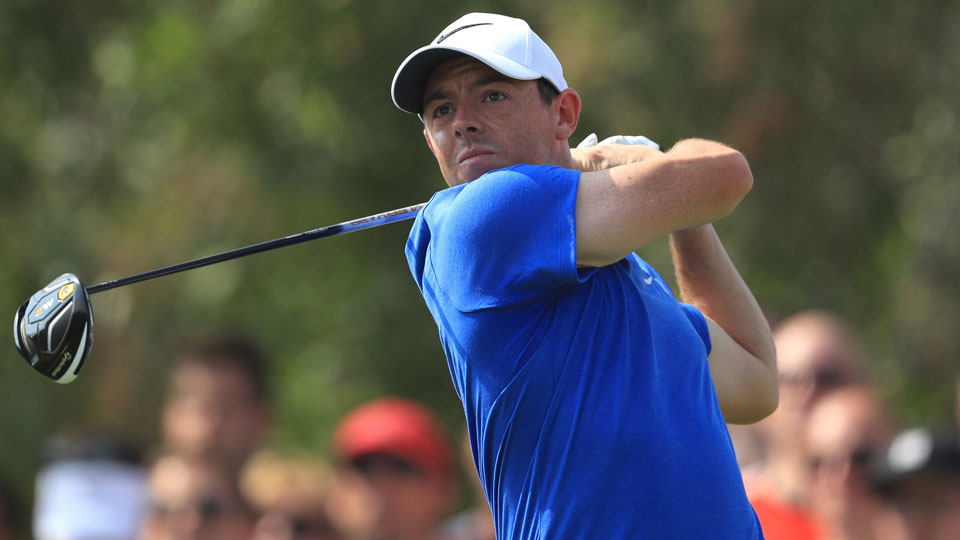 Rory McIlroy's injury will keep him out yet another week.