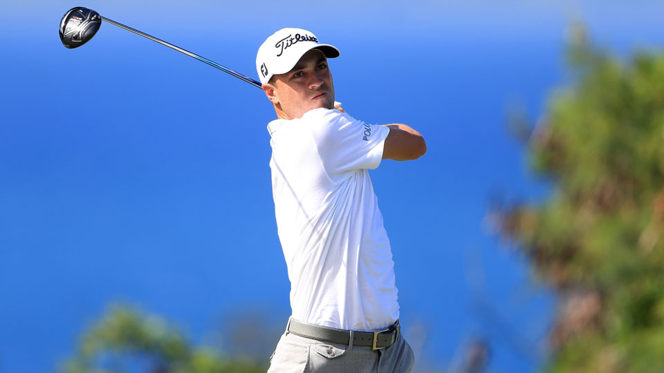 Justin Thomas will be looking for his third PGA Tour title on Sunday.