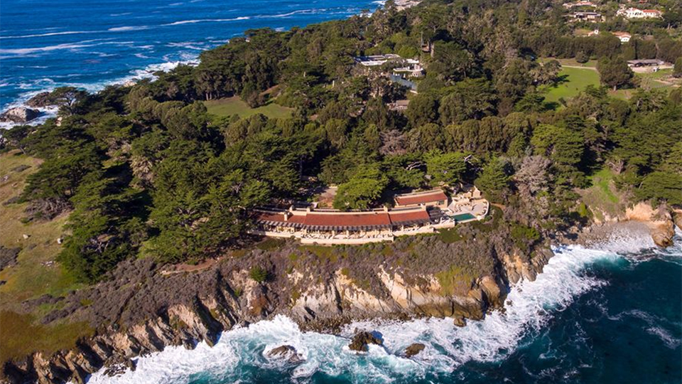 Ocean-front properties on Pebble Beach aren't available often.