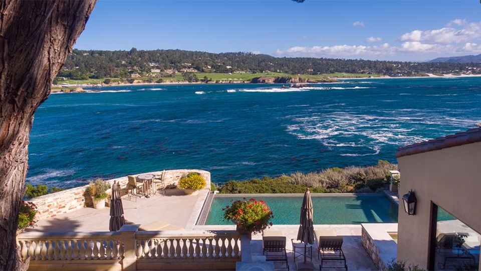 How much would you pay for a view of Pebble Beach Golf Links?