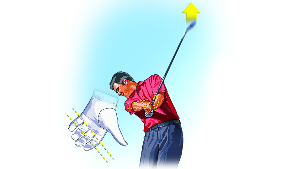 Solid distance with your irons starts with your grip.