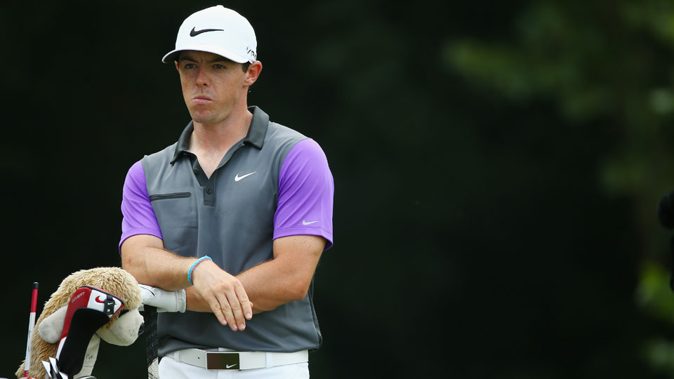 Rory McIlroy says he kept his eye on the prize at the 2014 PGA Championship at Valhalla.