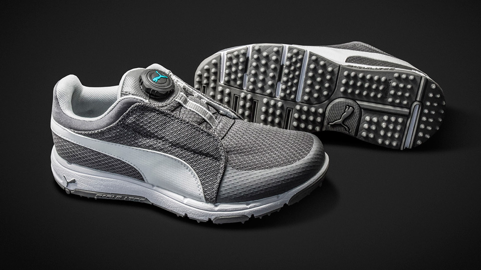 Puma TitanTour Grip Sport Junior Disc golf shoes.