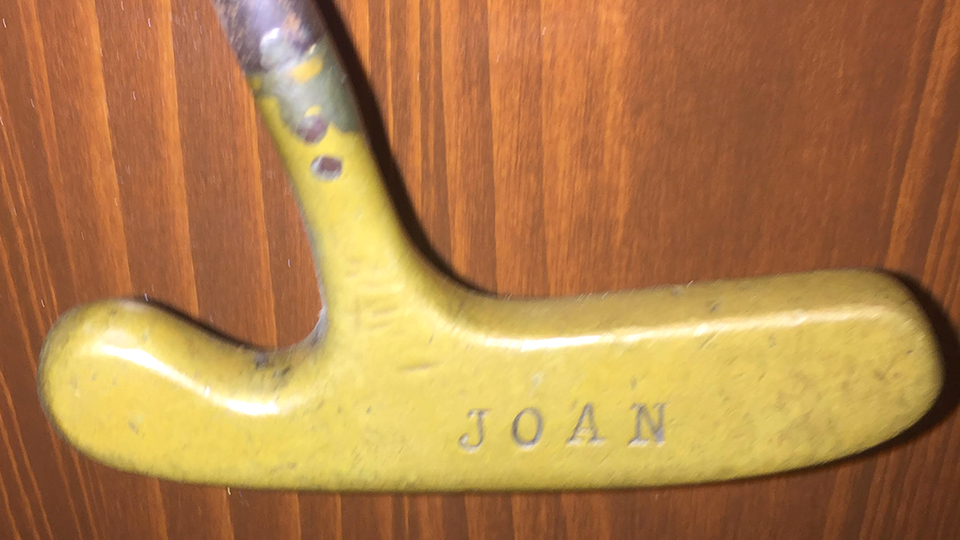 The putter Tom Nieporte used to win the Hope had special meaning to him: the name of his wife, Joan, was stamped on the back. Even when it broke, he found a jeweler to solder it back together instead of buying a new one.